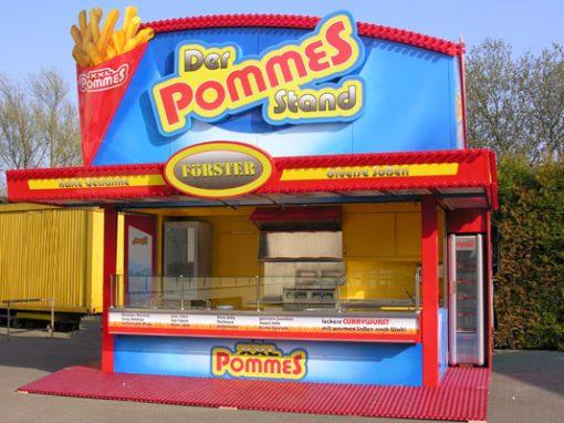 """"""" Der POMMES STAND """""""