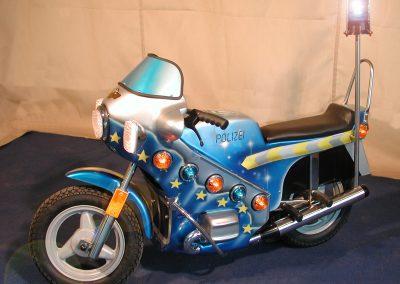 """"""" Polizei – Motorbike """""""